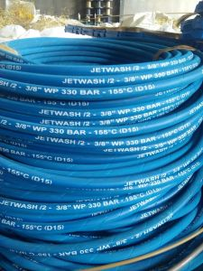 Blue Color High Pressure Water Cleaning Hose/ Car Wash Hose