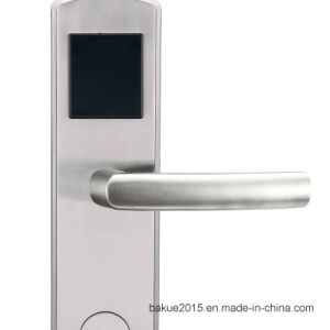 Digital RF Card Hotel Door Lock in Finish Gold pictures & photos