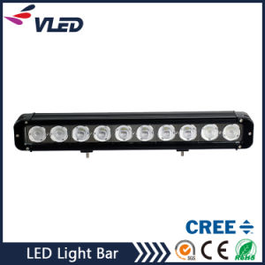 "17"" 8000lm SUV/Truck/Offroad CREE Single Row LED Light Bar 100W pictures & photos"