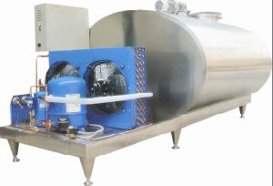 Industrial Use 1000L Directly Type Dairy Milk Cooler Tank pictures & photos