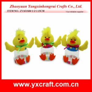 Easter Decoration (ZY16Y684-1-2-3) Happy Easter Day Holiday Candy Jar pictures & photos