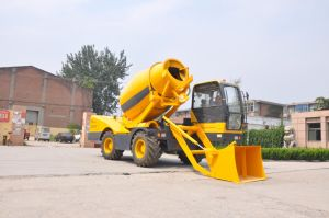 Self Loading Mobile Truck Mixers pictures & photos