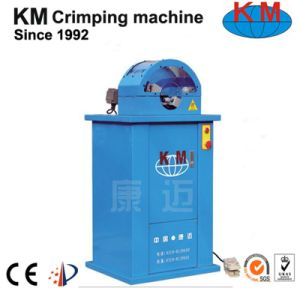 Hydraulic Flexible Hose Skiving Machine Km-65f pictures & photos