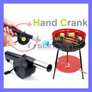 Barbecue Fan BBQ Hand Crank Blower Outdoor Picnic Camping Fire Tool (BBQ428) pictures & photos