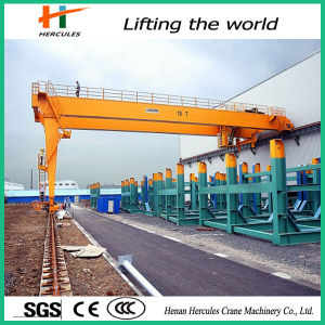 2015 Semi Gantry Crane with Double Girder pictures & photos