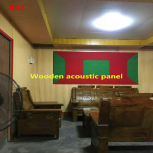 Wooden Acoustic Panel Wooden Decoration Wall Title Ceiling Board Wall Panel pictures & photos