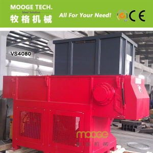PLC Control Wood Rubber Plastic Single Shaft Shredder Machine pictures & photos
