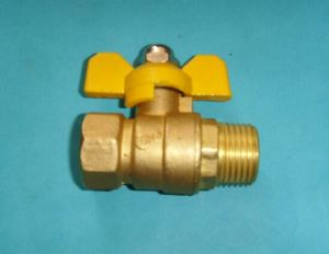 Brass Plumbing Water Control Ball Valve with Factory Price pictures & photos
