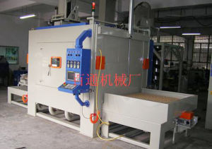 Single Turntable Type Auto Sandblasting Machine (1515-12) pictures & photos