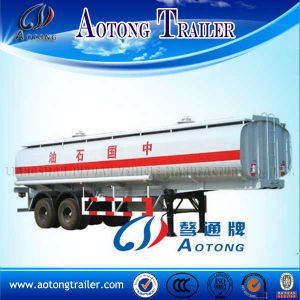 50m3 Tri-Axles Fuel Tank Semi Trailer for Export pictures & photos