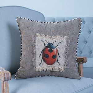 Hand-Made Decorative Cushion/Pillow with Insect Pattern (MX-47) pictures & photos