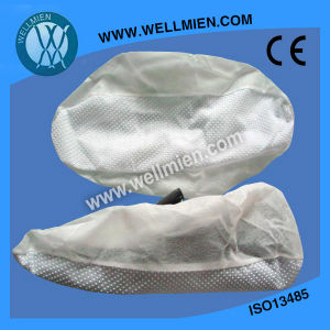 PVC Dotted Non-Skid Shoe Cover pictures & photos