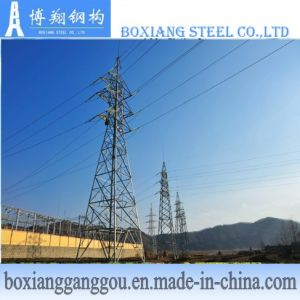 110kv Galvanized Power Transmission Tower
