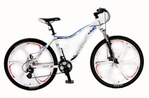 "26"" Alloy Frame Bike with 5 Arms Alloy Wheels (HC-MTB-2610) pictures & photos"