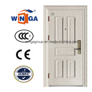 Classic Germany New Design of Steel Security Metal Door (W-S-14B) pictures & photos