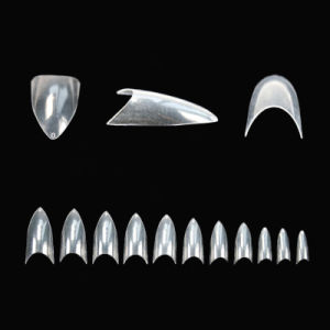 Cheap Price OEM Packing Clear Cusp Nail Tips pictures & photos