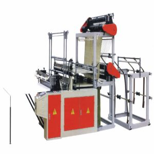 Computer Control Double-Layer Four-Line Plastic Bag Making Machine (WQ-DF900-1500F) pictures & photos