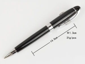 Free Sample Metal Pen for Promotion, Metal Pen Clips for Free Logo, High Quality Metal Twist Ball Pen Slim