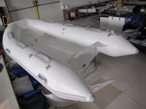 Small Cheap Inflatable Rib Boat, Rescue Motor Boat, Fishing Boat Rib360 with Ce Cert. pictures & photos