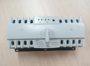 Wind Power Automatic Transfer Switch ATS Generator Switch 63A pictures & photos