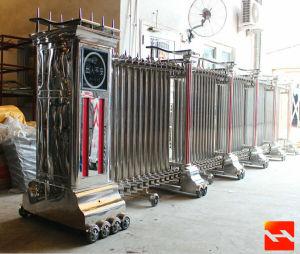 Aluminium Alloy Electric Retractable Doors pictures & photos