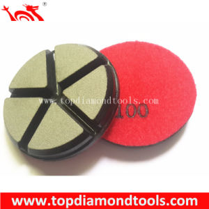 Ceramic Bond Diamond Polishing Pads for Concrete Floor pictures & photos