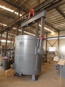 Bottom Pouring Steel Ladle for Casting; Foundry Ladle pictures & photos