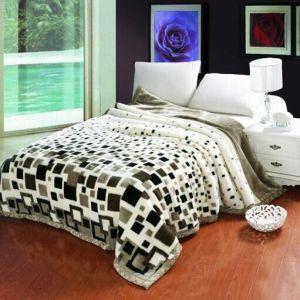 Raschel Double Layer Blanket pictures & photos