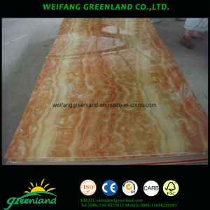 2.2mm Glossy / Matt Polyester Plywood with High Glossy Finish pictures & photos