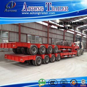 8 Axles Heavy Duty Low Bed Semi Trailer pictures & photos