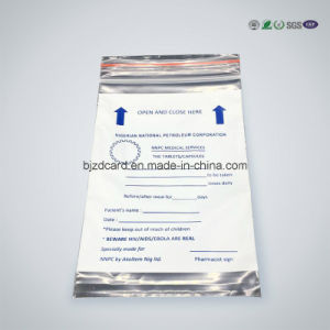 Disposable Customized Printed Ziplock Plastic Bag pictures & photos