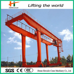 50t Electric Double Girder Gantry Crane Price pictures & photos