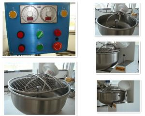 Economic Stainless Steel Flour Fork Type Mixer pictures & photos