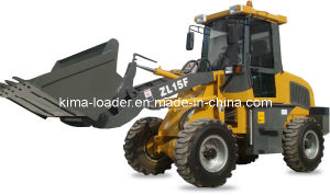 CE Certificated Articulated EPA 1.5 Ton Mini Wheel Loader
