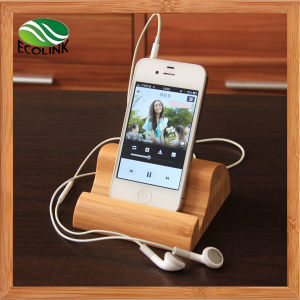 Bamboo Mobile Holder / Mobile Phone Display Stand pictures & photos