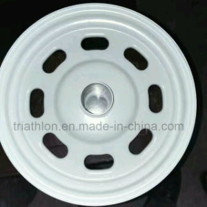 8X7 8X10 8X12 4X12 Steel Trailer Wheel for USA pictures & photos