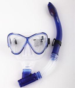 Aloma Skin Diving Adult Mask&Dry Snorkel Set