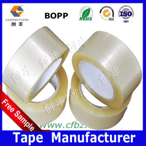 Super Clear BOPP Packing Tape No Bubble