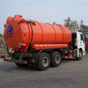 Sinotruck HOWO 8X4 6X4 4X2 Sewage Tank pictures & photos