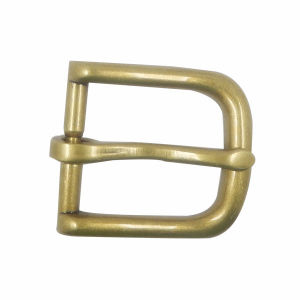 Custom Gold Plated Single Pin Cheap Belt Buckle pictures & photos