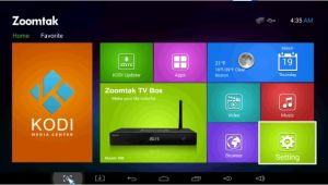Zoomtak T8 TV Box with Ota Updater Dual Band WiFi Perfect Kodi 14.2 pictures & photos