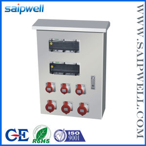 Waterproof Internation Standard Plastic Power Combination Socket Box (SPCSM0301)