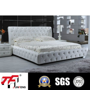 2016 New Design Leather Bed J-34 pictures & photos