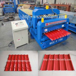 Glazed Tile and Roofing Double Deck Roll Forming Machine