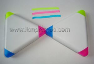 Tailored 3c, 5c Triangle Pentacle Pyramid Shape Highlighter Pen pictures & photos