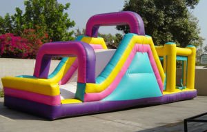 New Inflatable Obstacle Slide Inflatable Slides pictures & photos