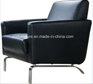 Modern Upholstery Leather Furniture Stainless Steel Frame Chair pictures & photos