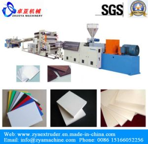 PVC Free Foam Board Production Line for Advertisement Board/Billboard/Slogon Board pictures & photos