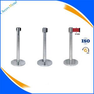Metal Retractable Belt Barrier Stand Queue Barrier Poles pictures & photos