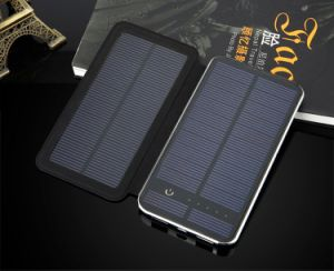 Solar Power Bank with External Battery 10000mAh pictures & photos